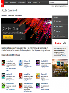 Adobe Downloads: Adobe Downloads